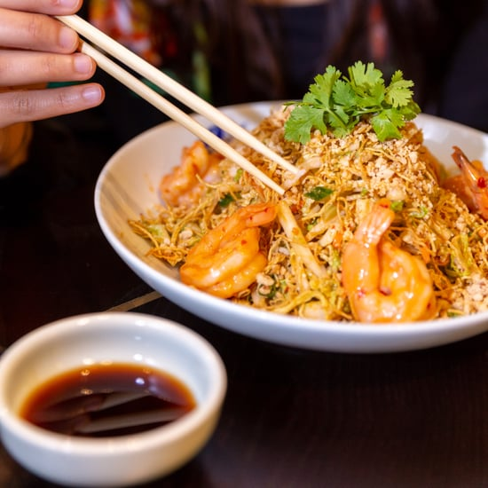 Stir-Fried Noodles with Prawns