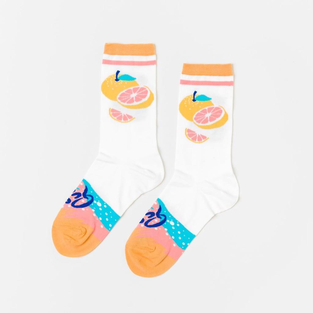 La Queen Crew Socks