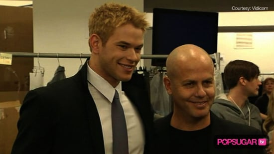 Kellan Lutz at Fashion Week For Calvin Klein 2010-02-15 13:45:00