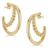 Missoma Radial Hoop Earrings