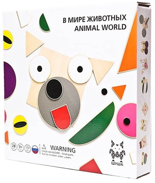 SHUSHA Animal Wooden Toy