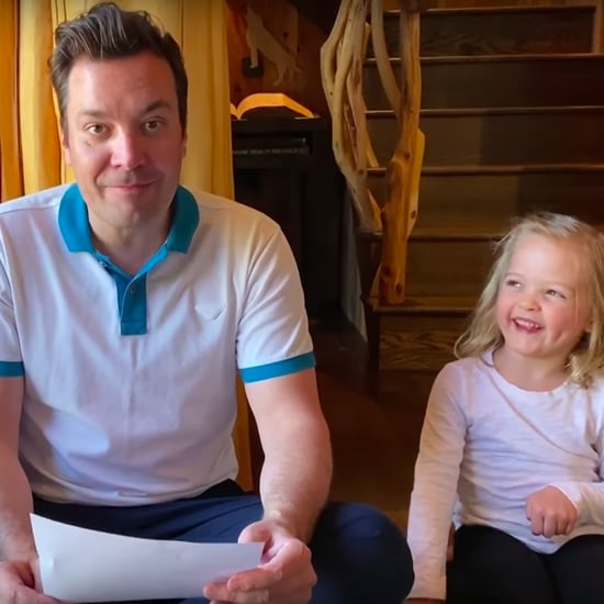 "Jimmy Fallon's ""Thank You Notes"" With His Daughters 