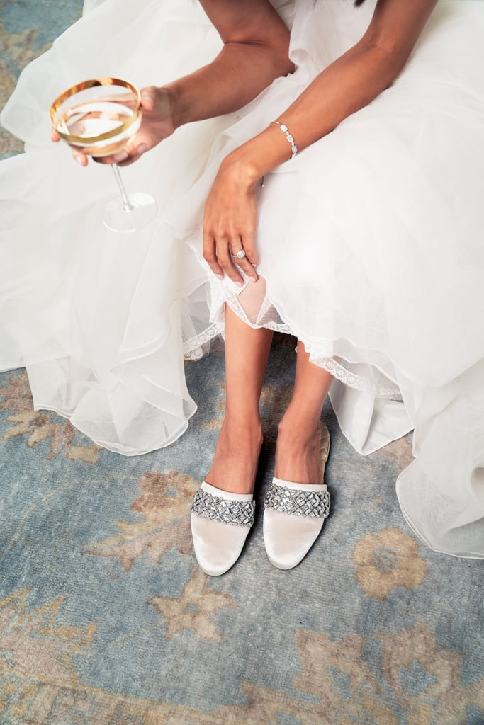 For a day that often doesn't include a lot of sitting down, slippers aren't a bad idea. That's why Birdies just released its first-ever bridal collection consisting of six different slippers in various soft colors with fun fringe or embellishments. One thing is for sure, though: they're all flat and meant to be as comfortable as possible for any bride, bridesmaid, or wedding guest.    Launched in 2015 by Bianca Gates and Marisa Sharkey, Birdies offers traditional smoking slippers, as well as open-toe slides. Meghan Markle is a fan of the brand, and has worn Birdies slippers on numerous occasions. (Did that grab your attention?) With prices ranging from $95 to $140, the collection is also fairly affordable as far as bridal shoes go. See the feminine campaign and shop the collection ahead.       Related:                                                                                                           What to Wear to All of Those Spring and Summer Weddings Right Here