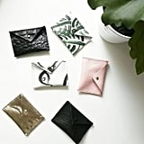 Leather Mini Envelope Wallet