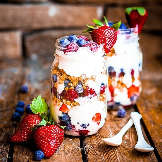 Healthy Mason Jar Snack Ideas Popsugar Fitness