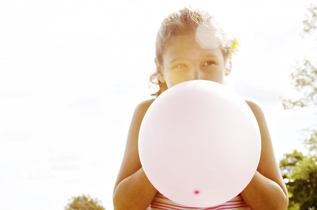 Bring a balloon in your pool bag.