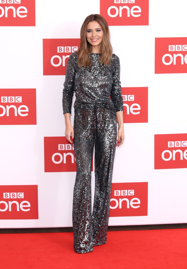 Cheryl's Silver Co-ord at The Greatest Dancer Photocall | POPSUGAR Fashion UK