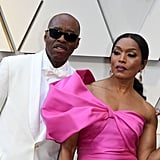 Pictured: Angela Bassett and Courtney B. Vance
