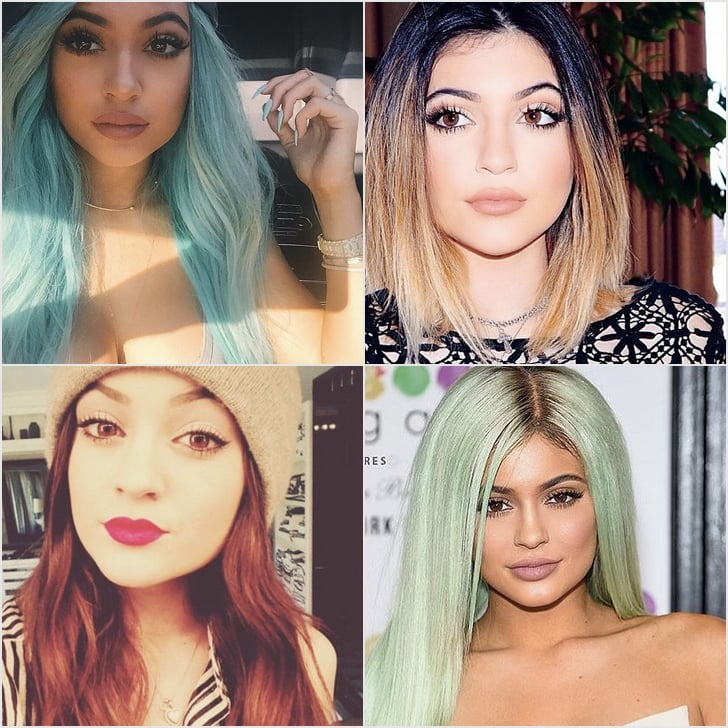 Kylie Jenner Hair Color | Pictures