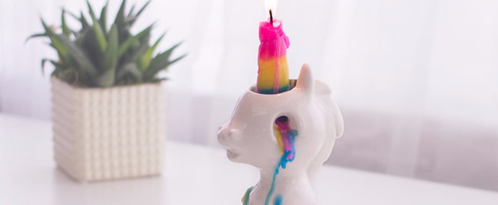 No Kidding — This Unicorn Candle Is So Cute You Just Might Weep