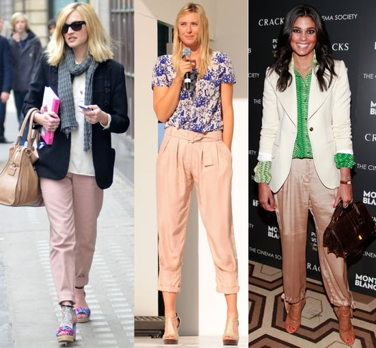 Shop the Trend! Blush Coloured Trousers as seen on Rachel Roy, Fearne Cotton and more