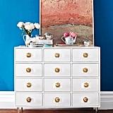 Lacquered Regency 12-Drawer Dresser