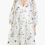 Cecilie Bahnsen Manila Floral-Embroidered Silk-Organza Dress