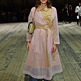 Alexa Chung at the Simone Rocha London Fashion Week Show
