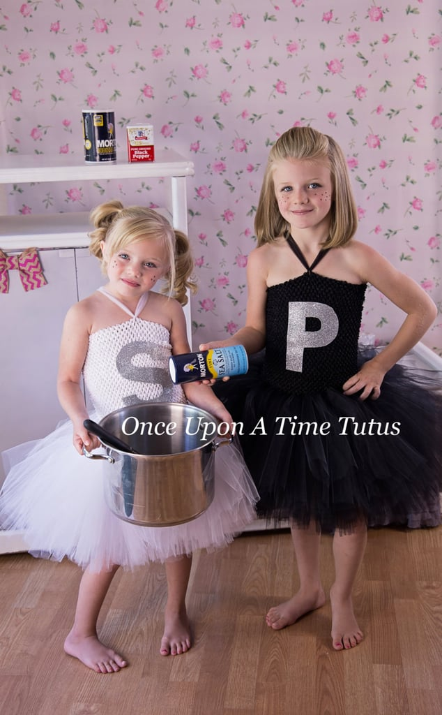 Salt and Pepper Shaker Tutu Dresses