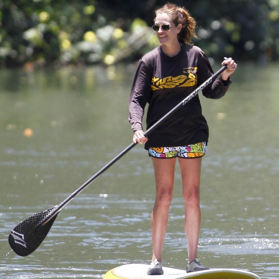 Celebrities Who Paddleboard