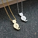 Personalized Kitty Cat Necklace ($12)