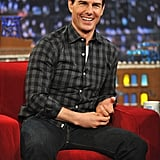 Tom Cruise was a guest on Late Night With Jimmy Fallon.