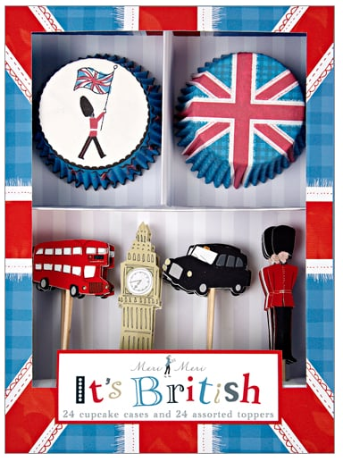 It's British Cupcake Kit ($13)