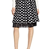 Halogen® x Atlantic-Pacific Heart Jacquard Skirt