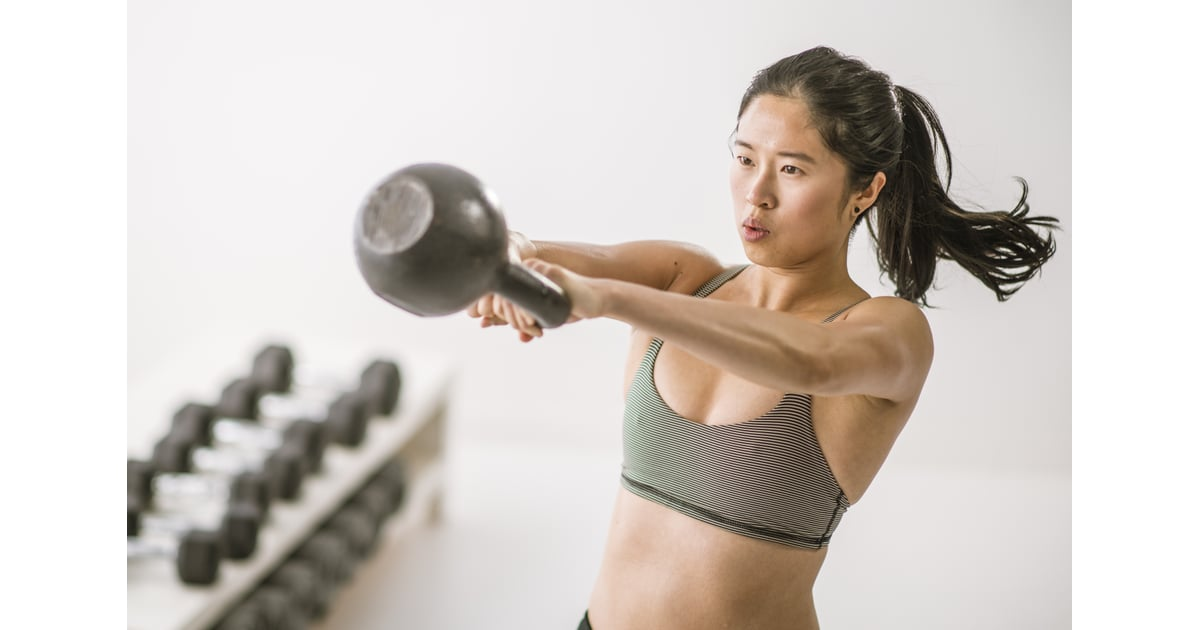 Tone and Strengthen Your Arms, Glutes, and Core With This Fast, Sweaty Kettlebell Workout