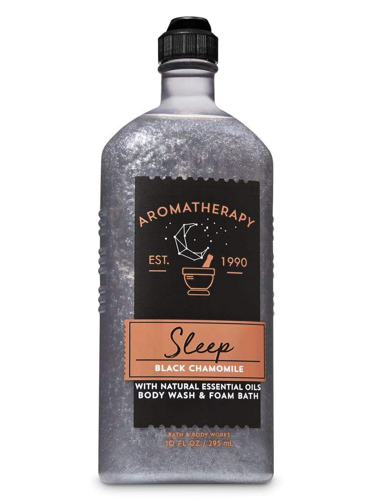 Bath & Body Works Aromatherapy Black Chamomile Body Wash & Foam Bath