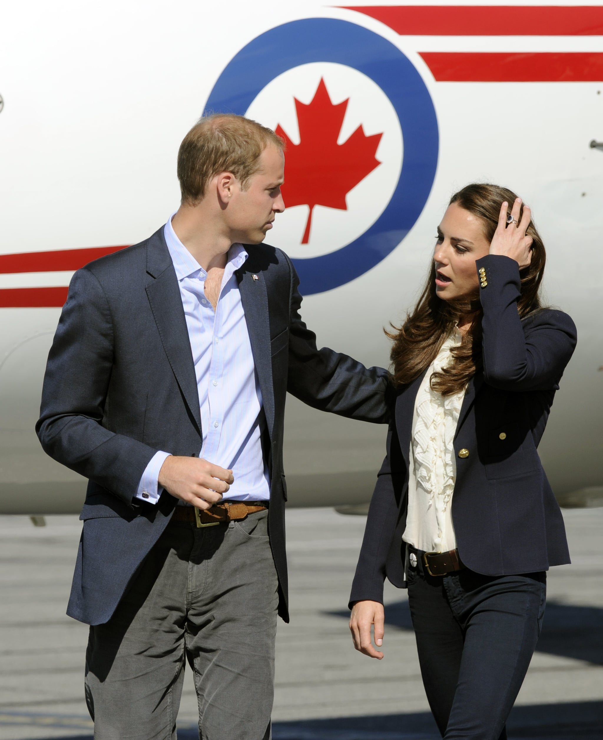 Kate Middleton and Prince William in Canada.