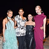 Storm Reid, Zendaya, Alexa Demie, and Hunter Schafer at the InStyle Awards 2019