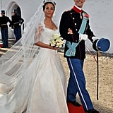 Happy marriage? Prince Joachim of Denmark and Princess Marie of Denmark at May wedding.