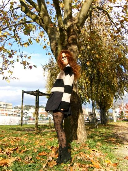 Leaves keep falling...