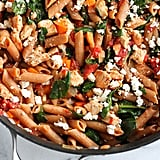 1-Pot Whole-Wheat Pasta With Chicken and Spinach