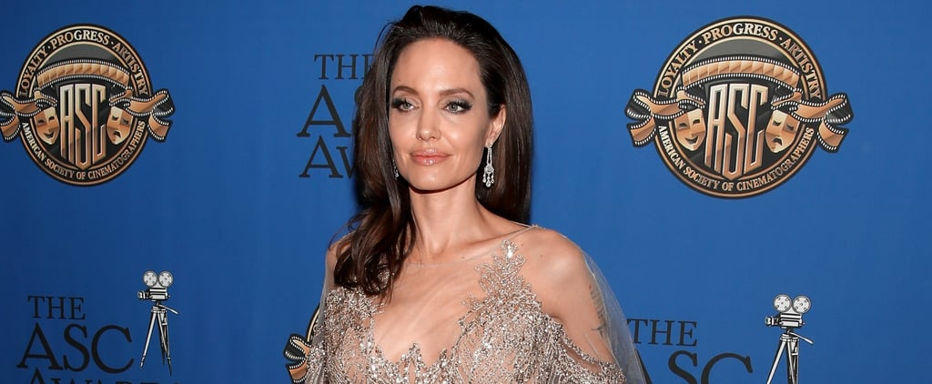 Angelina Jolie Is the Most Regal Queen of All the Realms in This Dress