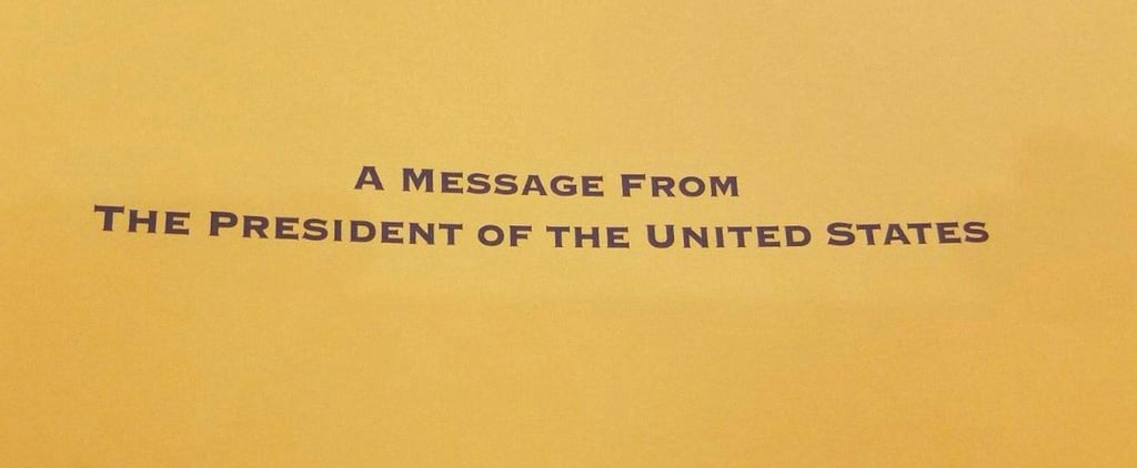 You'll Giggle For Days When You See Who's President on This Letter From the White House
