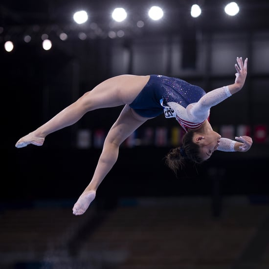 Suni Lee Practices Beam For First Time Since the Olympics
