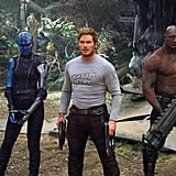 The Guardians From Guardians of the Galaxy Vol. 2