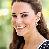 Kate Middleton at the Tusk Trust reception in Beverly Hills.