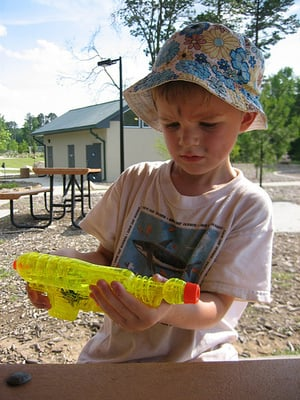 Why I Took Away My Toddler's Water Guns