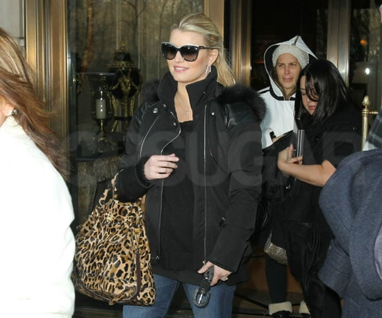 Slide Picture of Jessica Simpson in NYC