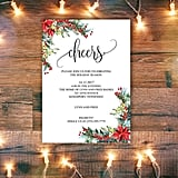 Cheers Holiday Party Invitation