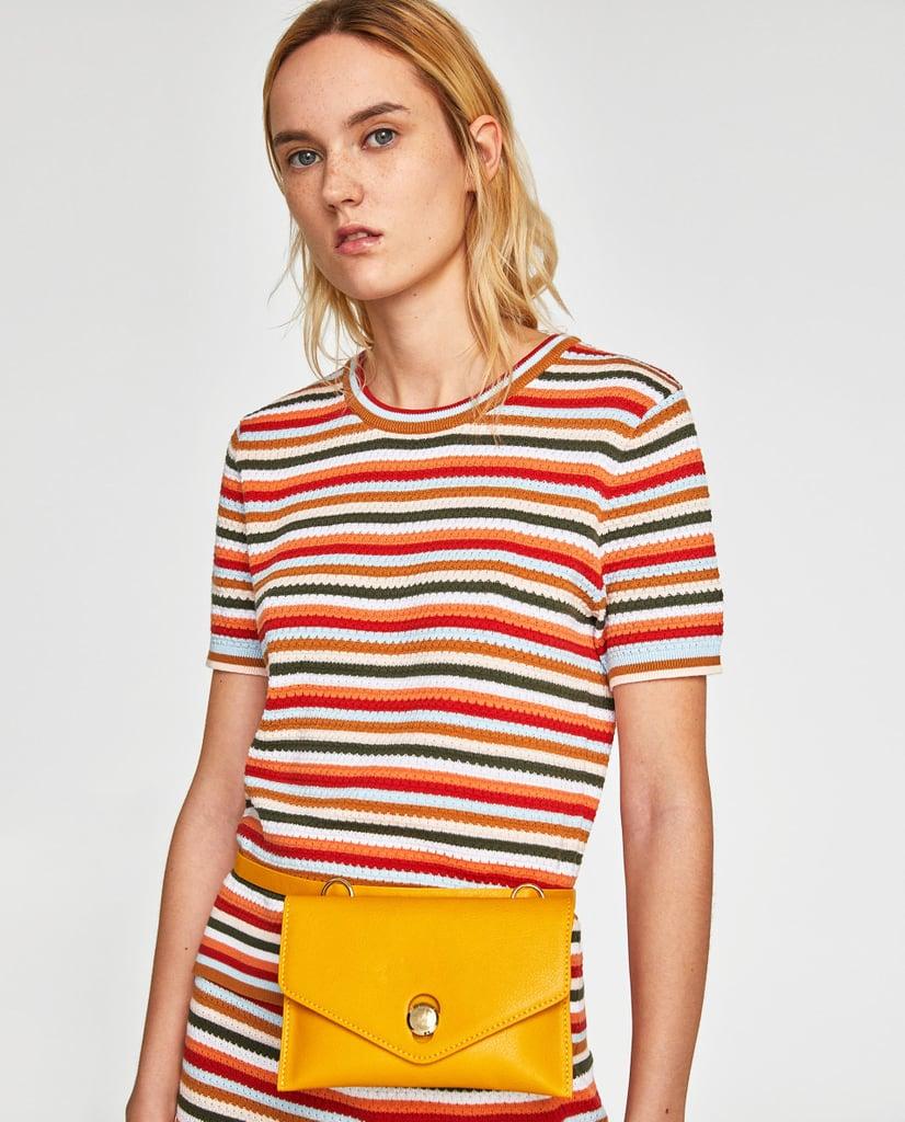 01454111 Zara Belt Bag | Bag Trends For Spring 2018 | POPSUGAR Fashion Middle ...