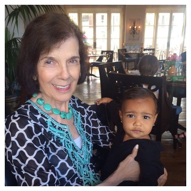 Kim Kardashian's Decadent Mother's Day Was ...