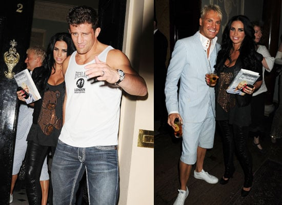 Pictures of Katie Price and Alex Reid at Gary Cockerill's Book Launch