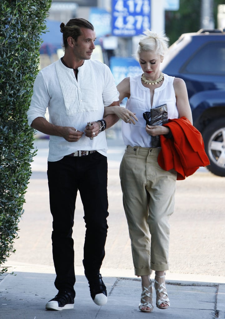 Gwen Stefani and Gavin Rossdale spent Father's Day together in LA.