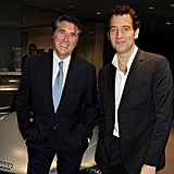 Clive Owen said hello to Bryan Ferry.