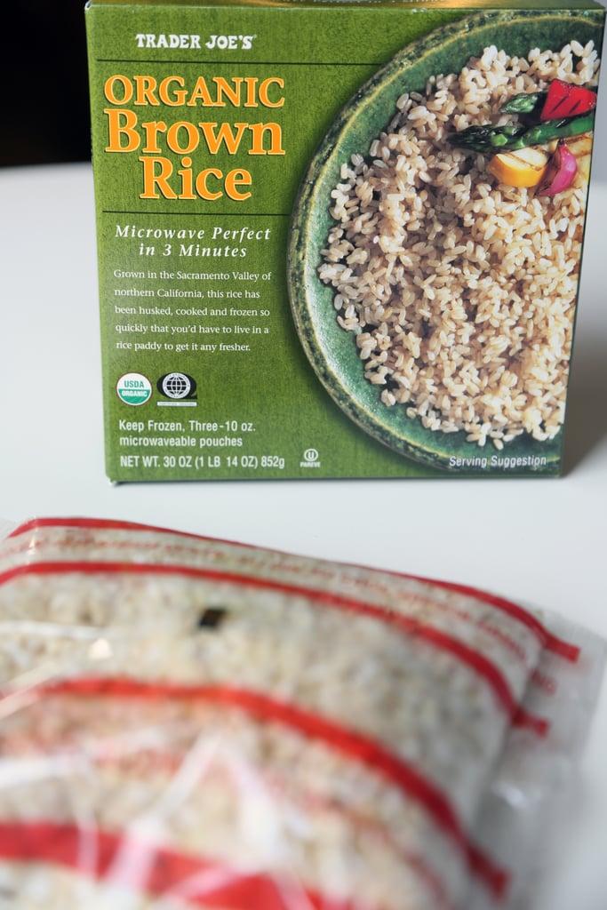 Frozen Organic Brown Rice ($4)