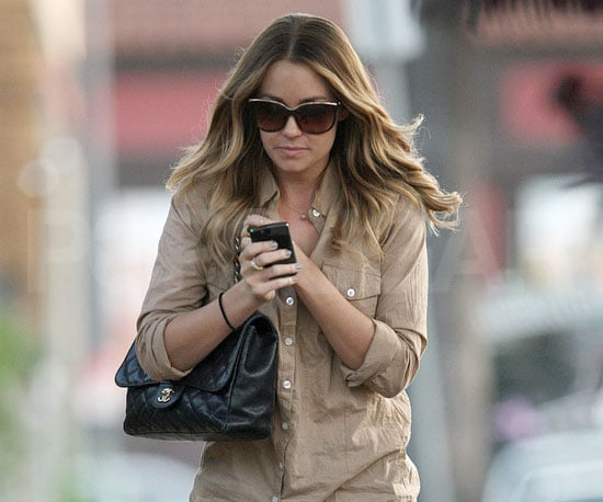 Slide Picture of Lauren Conrad Leaving the Set of BFF and Baby