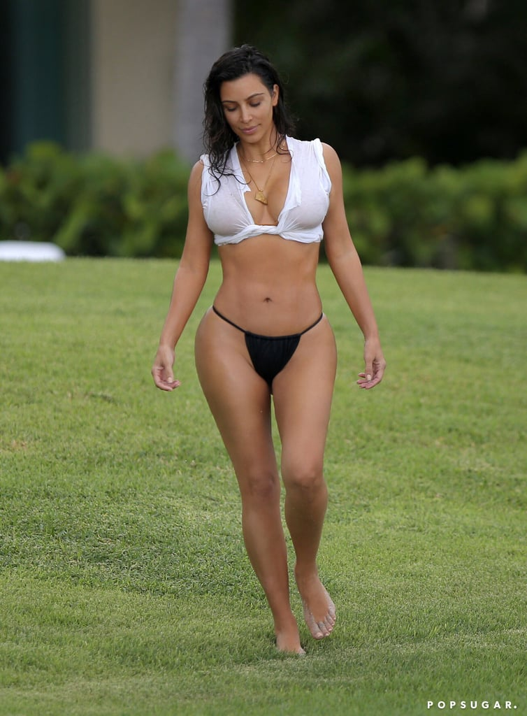 Dangerous Curves Ahead: Over 60 of Kim Kardashian's Hottest Swimsuit Photos