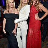 Oct. 30: She, along with Sofia Vergara, honored Reese Witherspoon at the American Cinematheque Awards.