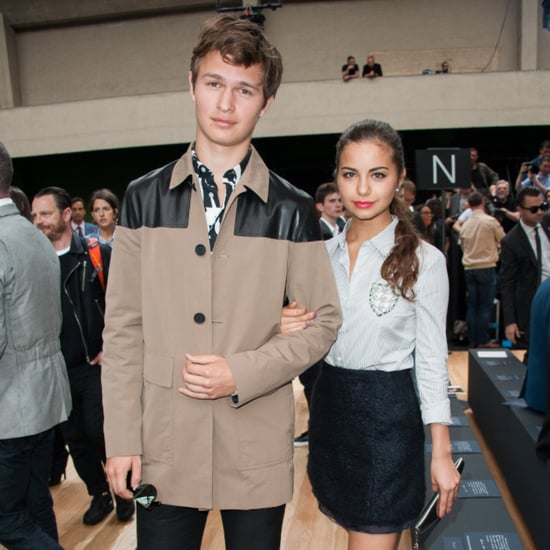 Ansel Elgort and Violetta Komyshan Instagram Picture 2015