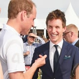 Eddie Redmayne on Playing Rugby With Prince William 2018